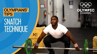 How to Master the Snatch in Olympic Weightlifting   Olympians' Tips