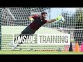 Inside Training Action packed First Session For Alisson Great Goals A World class Save And More