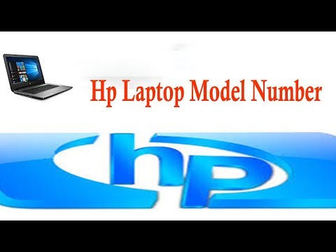 How to Find Hp Laptop Model Number Just Few step