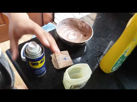 How to remove marker from wood