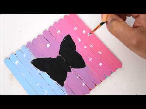 {DIY} Popsicle Stick Art