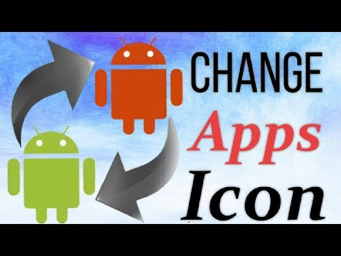 How to Change or Replace Apps icon in Android   Make Beautiful Icons  