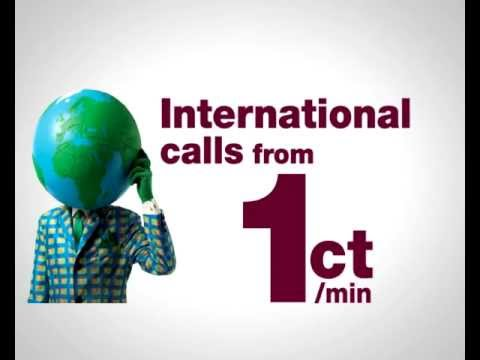 1cent calls, cheap calls from Spain, international calls, low cost calls