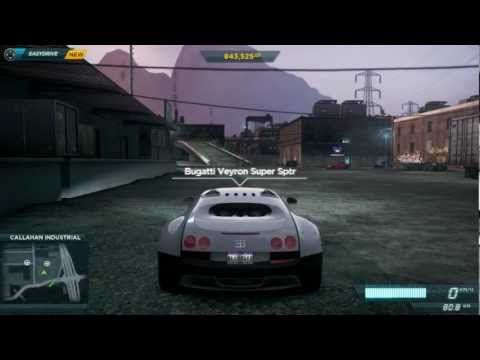 Need for Speed Most Wanted 2012 How to get the Bugatti Veyron