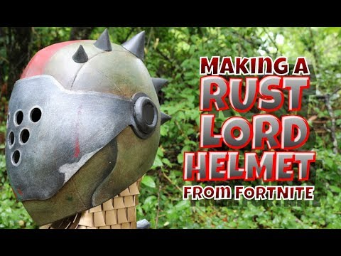 Rust Lord Helmet from Fortnite