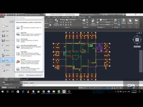 Exploring the user interface | Introduction Part-1 | AutoCad 2017 for Beginner