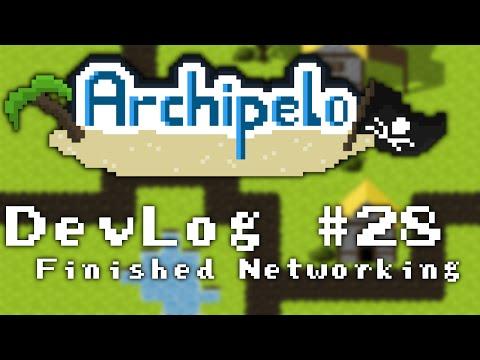 Archipelo DevLog #28: Finished Networking (2D Java LibGDX MMORPG)