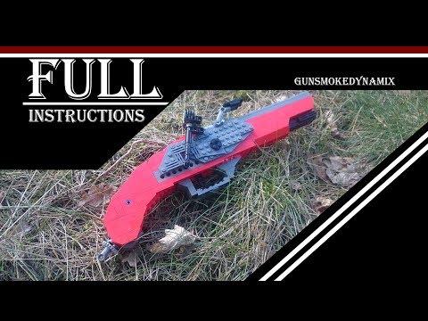 Working lego flintlock pistol [FULL INSTRUCTIONS]