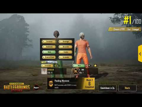 PUBG Mobile FPP | GAME PLAY |  8 Medal | Duo PUBG Game Play