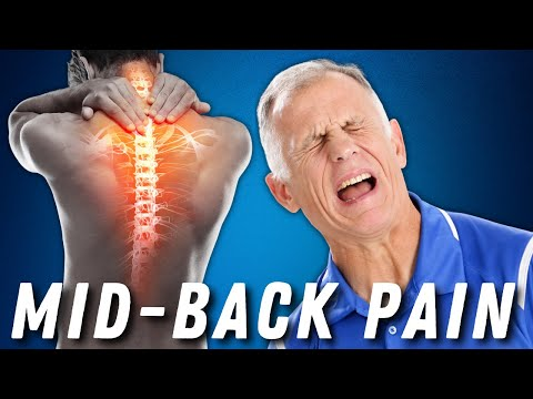 Thoracic (Mid-Back) Pain or Disc? Absolute Best Self-Treatment - McKenzie Method