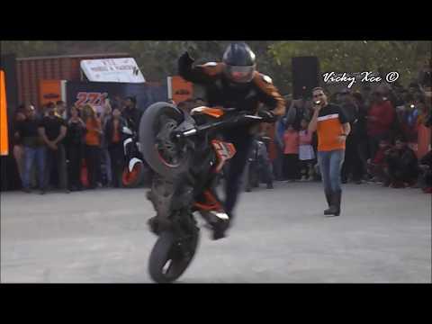 KTM StuntMania - Chroma 2k18 - The Youth Festival, Amity University Madhya Pradesh