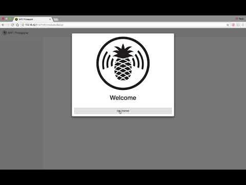 Initial Setup of Wifi Pineapple nano on Mac