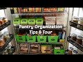 Pantry Organization & Makeover ~ How to Organize Your Pantry ~ Tips & Tour ~ Amy Learns to Cook