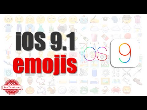 How to get iOS 9.1's new emojis on iOS 9.0.2 or earlier [Jailbreak only]