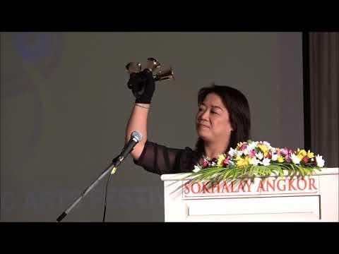 APAF 2018 at Cambodia - Guest Speaker Ms Emily Li (Hong Kong)