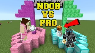 Minecraft: NOOB VS PRO!!! - SNOWBALL WARS!! - Mini-Game