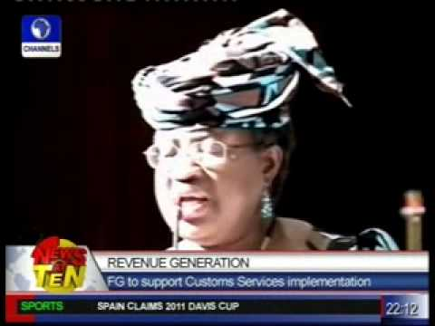 Revenue Generation:FG to support Customs Services implementation
