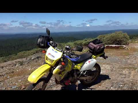 Ride to top of Slate Mountain in 4k