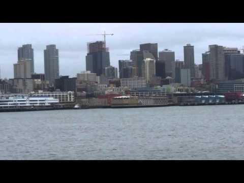 Seattle Washington ferry ride