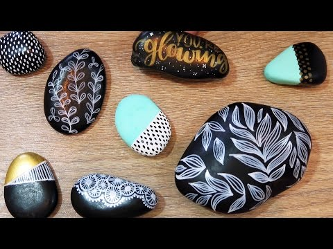 DIY ROCK PAINTING for the First Time | Ideas and Tips, What I Learned