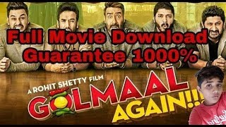 How to download golmaal again in Hindi full high defination