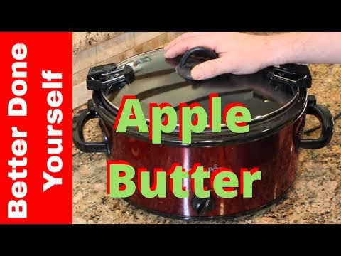 Slow Cooker Apple Butter Recipe for Christmas