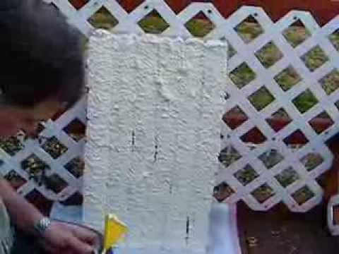 Poor Mans Spray Foam DIY insulation Polyureathane Foam Nozzle