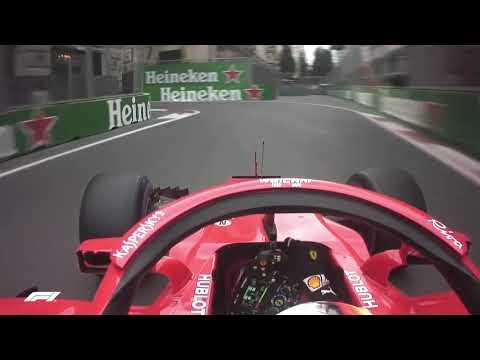 Sebastian Vettel's Pole Lap | 2018 Azerbaijan Grand Prix