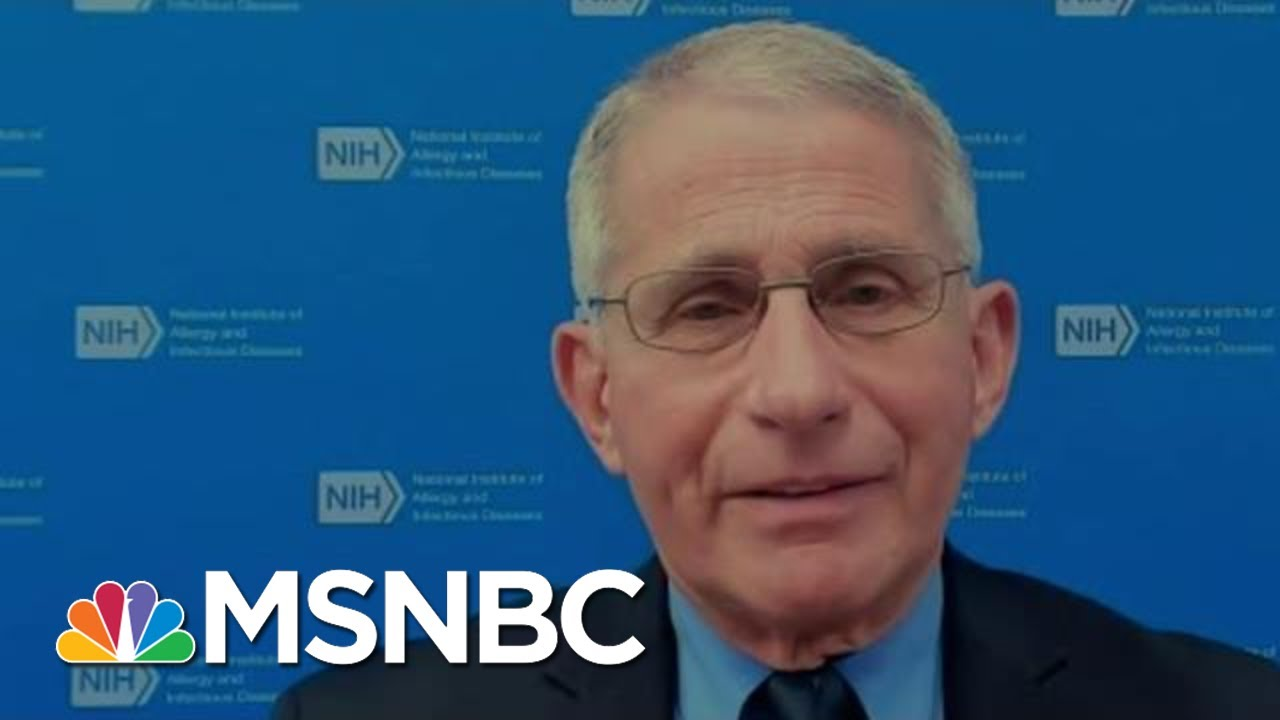 Dr. Fauci Reacts To Texas, Mississippi Mask Mandate Drop | Morning Joe | MSNBC