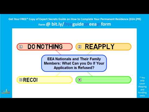 EEA Nationals and Their Family Members:  What to Do If Your Application is Refused?