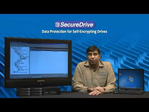 SecureDrive - Remote Management of Self-Encrypting Drives with Intel Core vPro Processors
