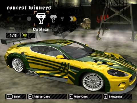 Need For Speed Most Wanted How To Make Ronnie's cars