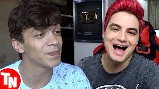 Júlio Cocielo manda indireta para Felipe Neto AO VIVO, Youtube Brasil é criticado