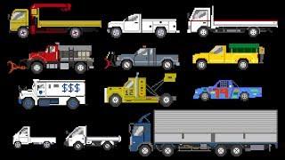 Trucks 2 - Sports, Winter & Street Vehicles - The Kids