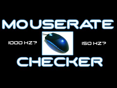 How to check your overclocked USB mouse polling rate