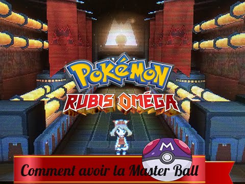 [FR]Pokémon Omega Rubis/Alpha Sapphire: Comment avoir la Master Ball?! (ORAS/ROSA) Tutoriel #2 [3DS]