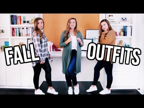 FALL OUTFIT IDEAS 2017 | 17 Outfits from 12 Items!