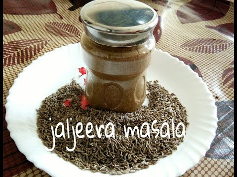 Jaljeera masala recipe   homemade jaljeera powder   hindi recipe