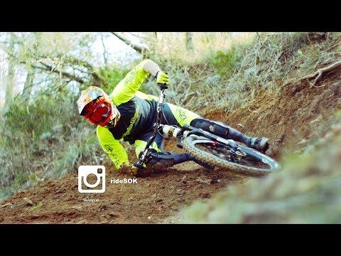 Extreme MTB Turn - Bryan Regnier with RideSOK