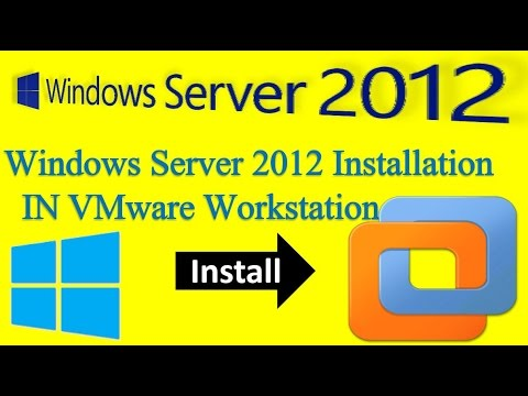 How to Install Windows Server 2012  in VMware