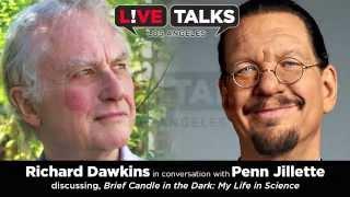 Richard Dawkins in conversation with Penn Jillette at Live Talks LA