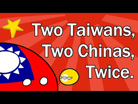 Two Taiwans, Two Chinas, Twice