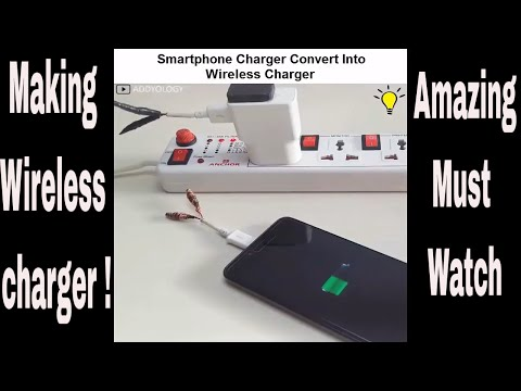 Wow !! Wireless Charging is now possible ! Must Watch