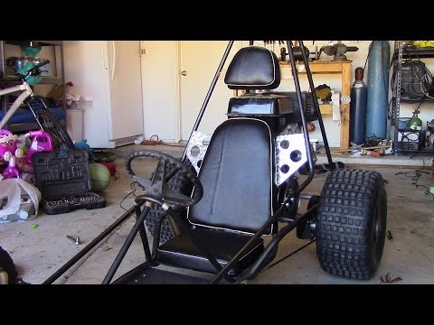How To Make a Go Kart Seat, Step by Step Walkthrough