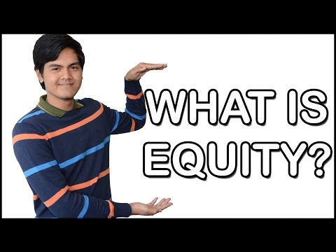 What is Equity? Explained by a 20 year old | Koukun