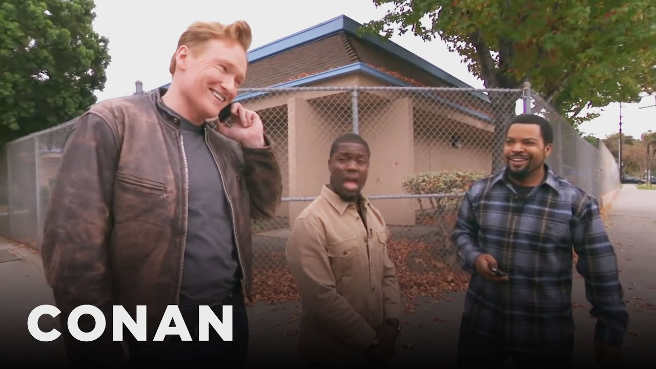 Ice Cube, Kevin Hart, And Conan Share A Lyft Car   CONAN on TBS