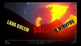 Ark Survival Evolved | Ragnarok | Lava Golem Cave - PlayingItNow