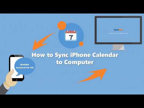 How to Sync iPhone Calendar to Computer