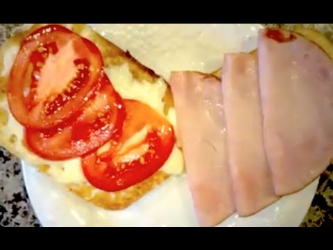Italian Ham Pesto Panini Sandwich