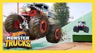 ЯРОСТЬ ГОНОЧНЫХ МЕГА-МОНСТРОВ HOT WHEELS   Monster Trucks: 2 серия   Hot Wheels